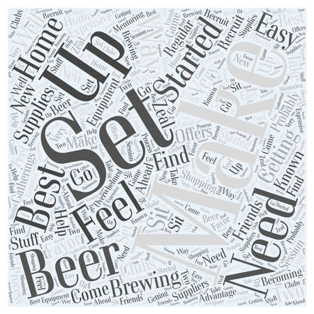 Getting Set Up to Make Beer Word Cloud Concept