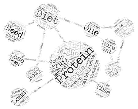 A Low Carbohydrate Diet works for weight loss Don t Believe the Hype Word Cloud Concept Text Background