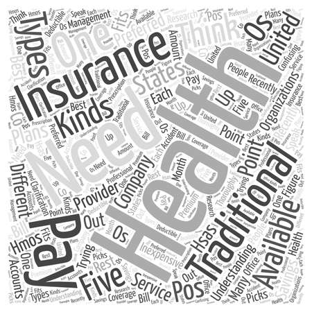 health insurance for every need understanding the kinds availablehealth insurance for every need understanding the kinds available word cloud concept stock photo 72892517