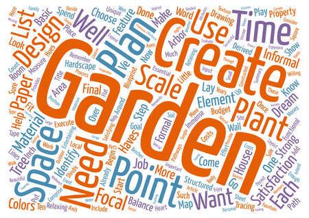 摘要: A beautiful garden is a work of heart text background word cloud concept