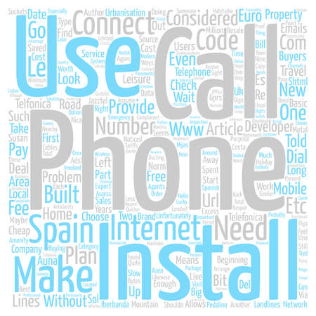 E T Phone Home But Maybe Not From Spain text background word cloud concept