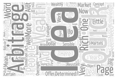 A Simple Get Rich Quick Idea text background word cloud concept