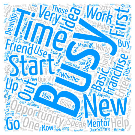 daunting: Business Opportunity Start Your Own Business Word Cloud Concept Text Background Stock Photo