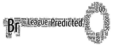 predicted: Dwayne Bryant s NFC West Preview text background word cloud concept