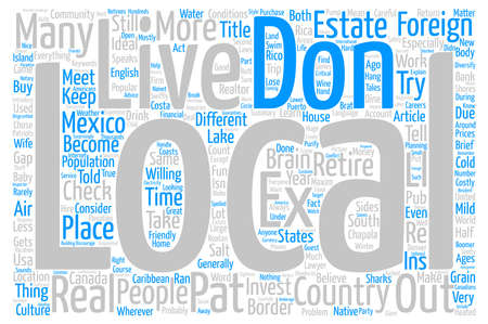 foreign bodies: Don t Check Your Brain at the Border Word Cloud Concept Text Background Stock Photo