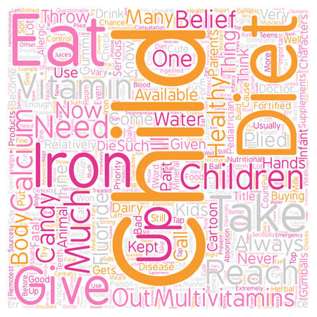 plied: Healthy Diet For Your Child text background wordcloud concept