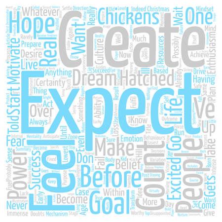 カウントあなたの鶏の前に彼ら ve Hatched テキストの背景の単語雲の概念のです。