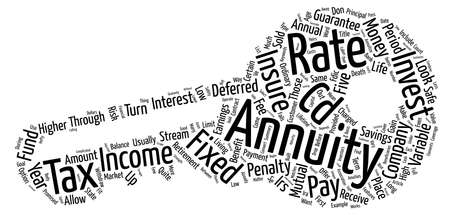 annuities: Annuities Word Cloud Concept Text Background