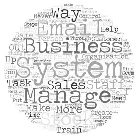 easier: Business systems what are they text background word cloud concept