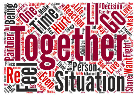 compatibility: Compatibility text background word cloud concept