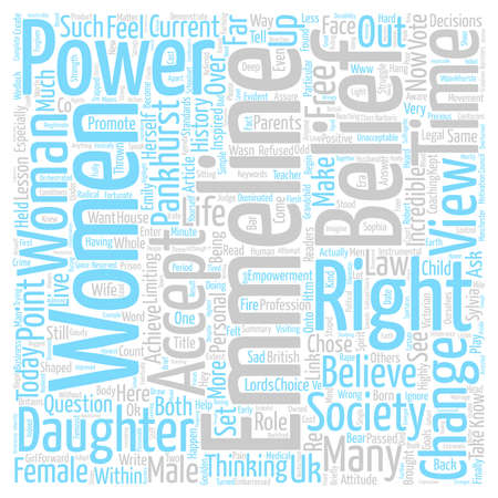 power within: Empowerment for Women The Power is Within You text background word cloud concept
