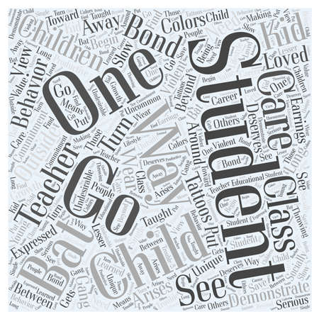 arises: Going to Bat for Your Students Word Cloud Concept Stock Photo