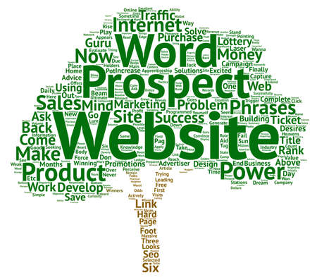 摘要: Capture Your Prospects Now text background word cloud concept
