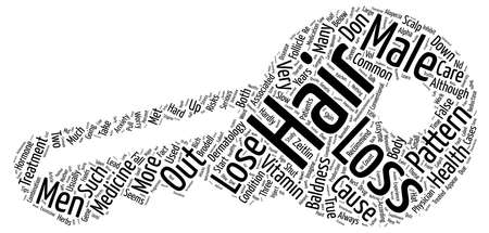 Don t Lose Hair Word Cloud Concept Text Background