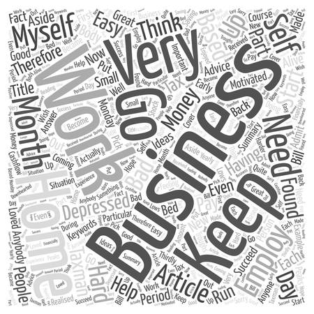 Advice For People Who Work From Home Word Cloud Concept Vettoriali