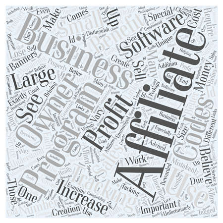 Affiliate Tracking Software Who Can Use It Word Cloud Concept