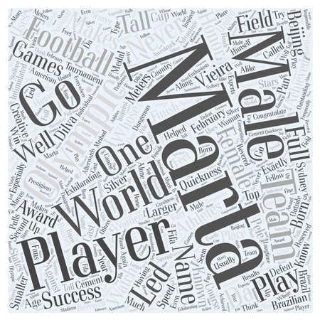 Athletes to Watch at the Beijing Olympics Marta Word Cloud Concept