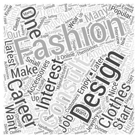 Las carreras de moda que te pueden interesar en Word Cloud Concept Foto de archivo - 73401209