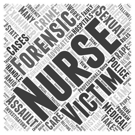 forensic nursing history Word Cloud Concept Фото со стока - 73382077