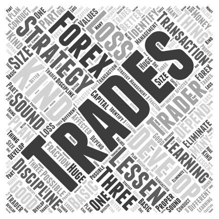 depend: forex trading strategies Word Cloud Concept Illustration