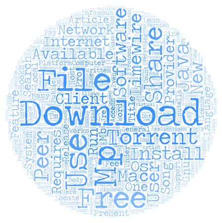 mp: Free Mp3 Download Provider text background wordcloud concept Illustration