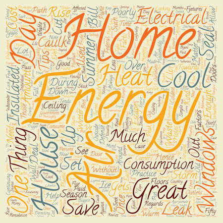 House Energy LCC 1 text background wordcloud concept