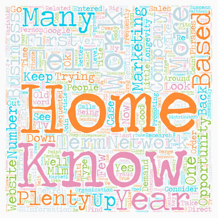 How Do I Choose A Home Based Business text background wordcloud concept Illustration