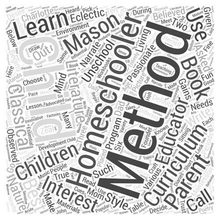 homeschooling: Homeschooling methods dlvy nicheblowercom Word Cloud Concept.