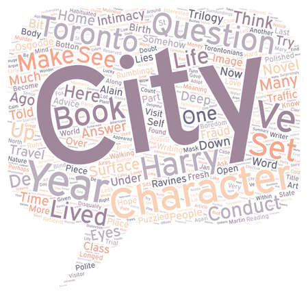 multiple birth: How A City Can Be A Character In Your Novel text background wordcloud concept