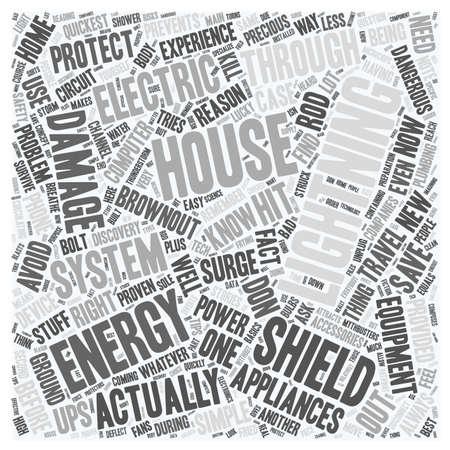 Texto del escudo concepto de fondo wordcloud energía de la vivienda