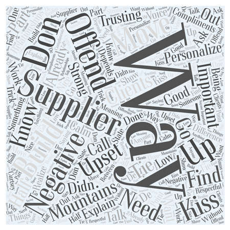 How and where to find suppliers Word Cloud Concept