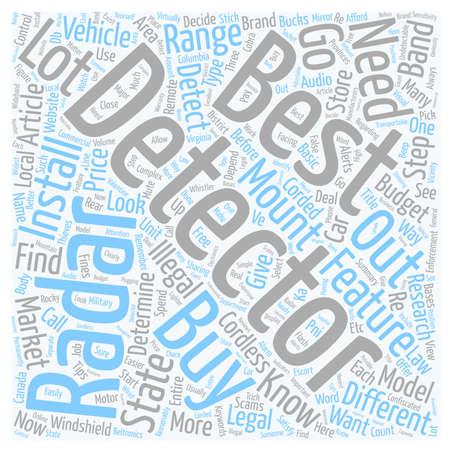 최고의 레이더 탐지기 텍스트 배경 wordcloud 개념을 구입하는 방법
