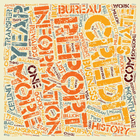 How to Check Credit Reports text background wordcloud concept