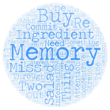 How To Get Rid Of Memory Obstacles text in wordcloud concept Illustration