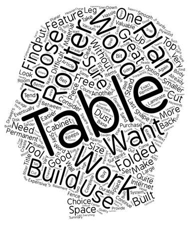 How To Make Great Router Tables text background wordcloud concept