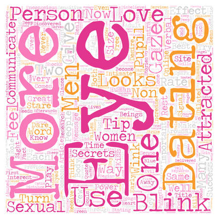 Hoe goed ken je je eigen ogen tekst achtergrond woordcloud concept