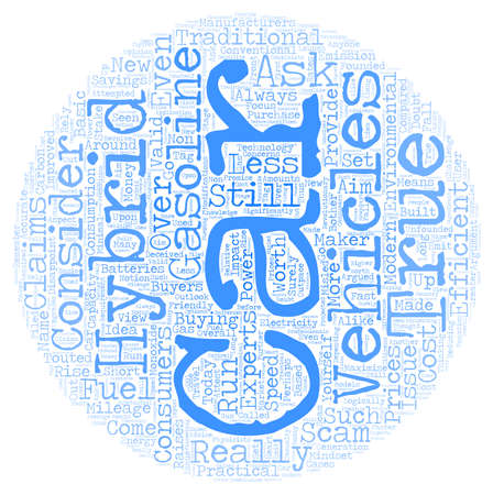 attempted: hybrid vehicles3 1 text background wordcloud concept Illustration