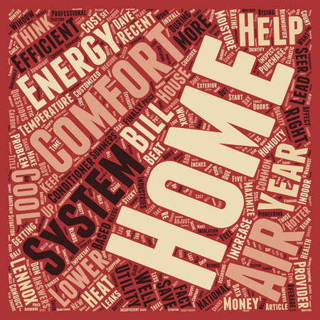 hotter: How to Maximize Comfort and Lower Your Utility Bills text background wordcloud concept