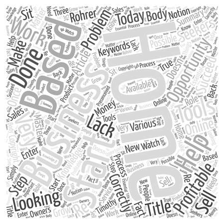 How to Start a Home Based Business Word Cloud Concept Illustration
