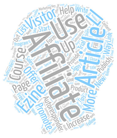 How To Use Autoresponders To Increase Your Sales text background wordcloud concept