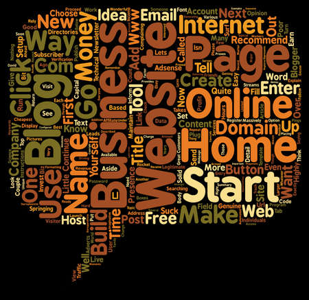 How To Start An Online Home Business With Little Or No Capital text background wordcloud concept