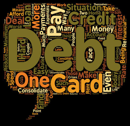 How To Pay Off Debt text background wordcloud concept