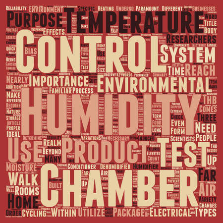 Humidity Control text background wordcloud concept