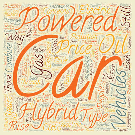 hybrid vehicles 1 text background wordcloud concept