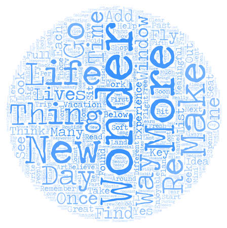 I Wonder Where the Wonder Went text background wordcloud concept