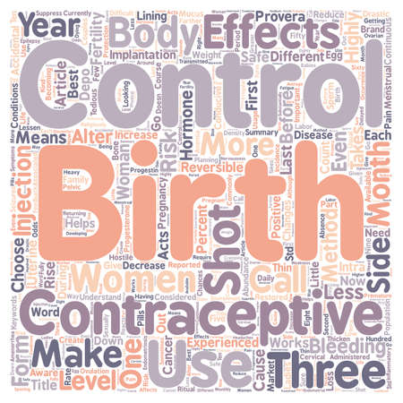 Injectables Are They Safe To Use text background wordcloud concept Vetores