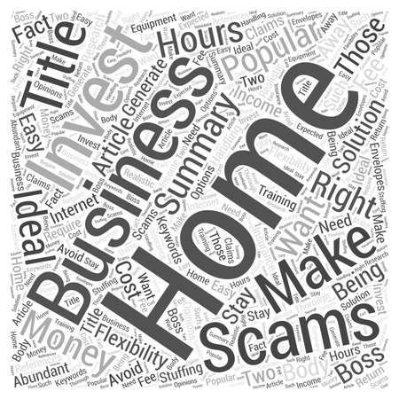 flexible business: Is a Home Business Right for You Word Cloud Concept