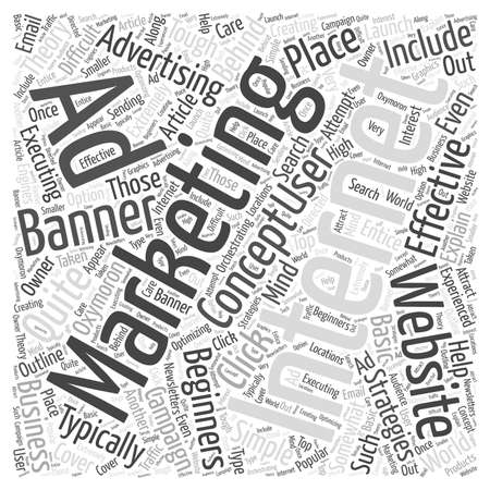 executing: Internet Marketing For Beginners Word Cloud Concept