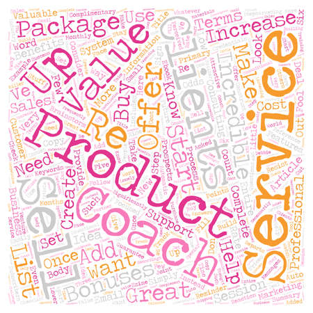 Increase Your Sales With an Incredible Offer text background wordcloud concept