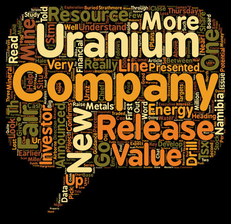 Inside A Company s News Release text background wordcloud concept